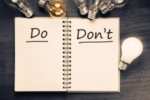 do's and don'ts for SMB website image